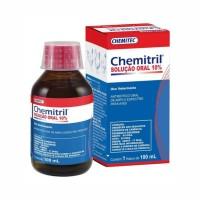 9110 - CHEMITRIL 100ML SOLUCAO ORAL 10% AVES