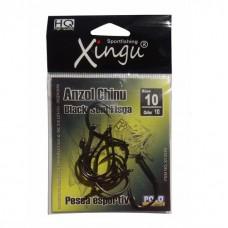 7250 - ANZOL N10 CHINU BLACK SEM FISGA C/10