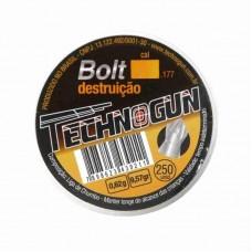 2911 - CHUMBINHO TECHNOGUN BOLT 4,5MM C/250