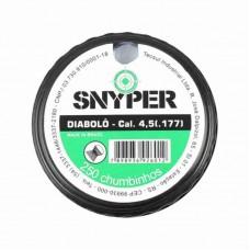 5512 - CHUMBINHO DIABOLO SNYPER 4,5MM C/250