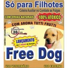 3946 - COLEIRA ANTI PULGA FREE DOG FILHOTE 36CM