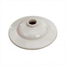 6472 - PLAFON BRANCO PVC LOMBADA C/ SOQUETE E27
