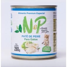 2751 - PATE ENLATADO GATOS NEP PEIXE 280G