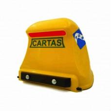 1383 - CAIXA CORREIO PVC POWER AMARELA