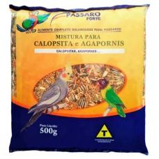 3141 - MISTURA CALOPSITA/AGAPORNIS 500G