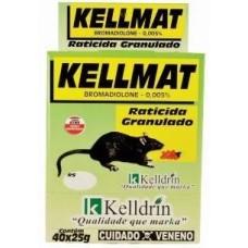 3445 - RATICIDA KELLMAT GRANULADO 40X25G