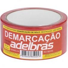 1537 - FITA DEMARCACAO SOLO VERMELHA 48MMX14M