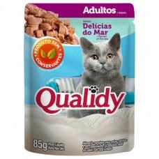 7833 - SACHE QUALIDY CAT DELI MAR MOLH 85G C/18
