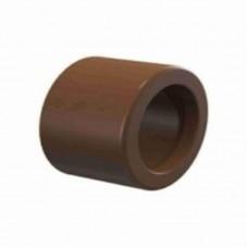 874 - BUCHA MARROM SOLD CURTA PLAST 25X20 C/10