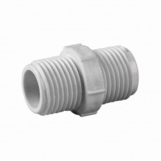 5755 - NIPEL BRANCO ROSCAVEL PLAST 1/2X1/2 C/20