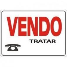 4460 - PLACA SINALIZ VENDO 20X30