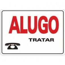 4461 - PLACA SINALIZ ALUGO 20X30