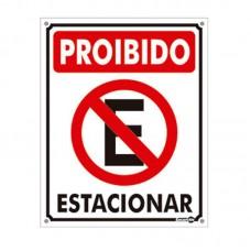 4451 - PLACA SINALIZ PROIBIDO ESTACIONAR 20X30