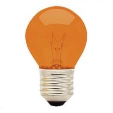 513 - LAMPADA BOL 15WX220 LARANJA E27