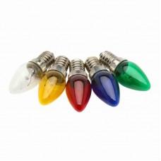 5865 - LAMPADA CHUPETA VERMELHA 7WX127V E14