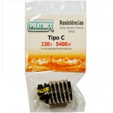 3626 - RESISTENCIA 220V 5400W - TIPO CORONA