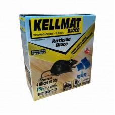 6630 - RATICIDA KELLMAT BLOCO CAIXINHA 20G C/4